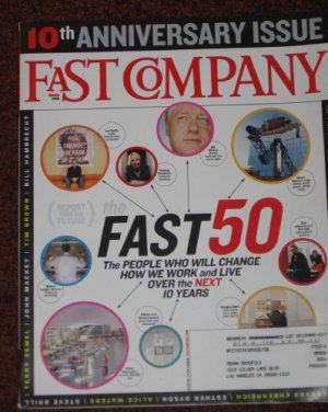 FAST COMPANY March 2006 10th Anniversary Issue 103 Magazine