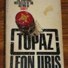 TOPAZ by Leon Uris Suspense Espionage Cold War Novel 1978 Paperback Book