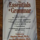 Concise Guides The Essentials of Grammar by Hayden Mead A Reference Paperback Book