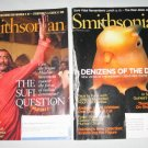 Smithsonian Magazine October 2007 December 2008 Lot of 2