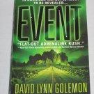 EVENT by David Lynn Golemon Science Fiction Thriller Paperback