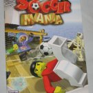 Soccer Mania Instruction Booklet Leaflet Guide