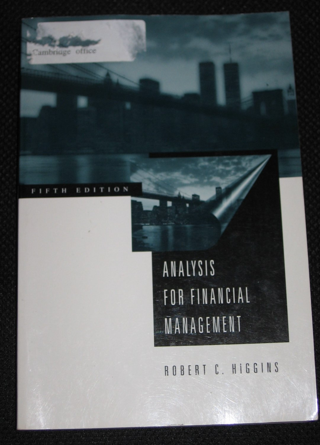 Analysis for financial management irwin mcgraw hill series for Mcgraw hill real estate