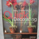 Mary Emmerlings Quick Decorating American Country Series by Jill Kirchner (Hardcover, 1997)
