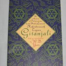 GITANJALI Rabindranath Tagore Collection of Indian Poems by Nobel Laureate Scribner Poetry