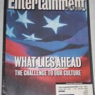 ENTERTAINMENT WEEKLY Magazine 617 Post 9/11 Star Trek Enterprise Strokes Ryan Adams September 2001