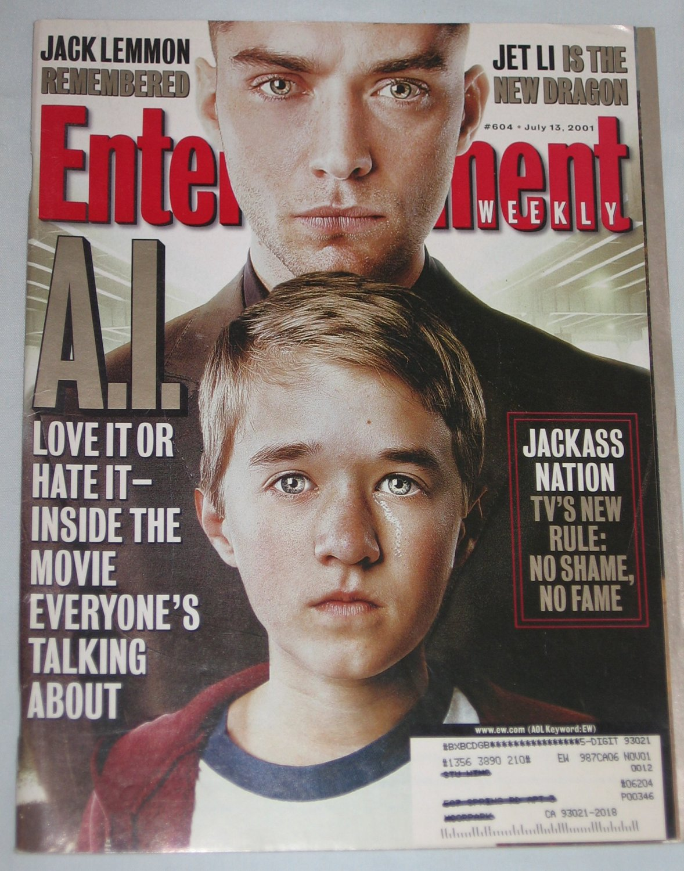 ENTERTAINMENT WEEKLY Magazine 604 Jude Law Jet Li Jack Lemmon July 13 2001
