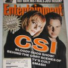 ENTERTAINMENT WEEKLY Magazine 589 Sean Puffy Combs Stars Wars CSI March 30 2001