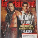 ENTERTAINMENT WEEKLY Magazine 595 The Rock Brendan Fraser Mummy Returns Star Wars May 11 2001