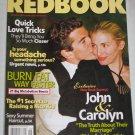 REDBOOK MAGAZINE June 2004 John Carolyn Kennedy Truth About Their Marriage Quick Love Tricks