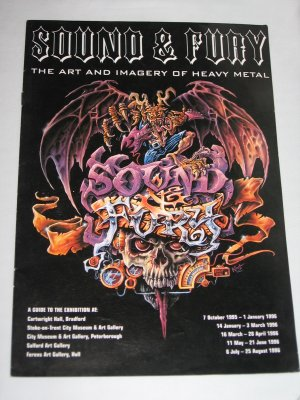 SOUND and FURY The Art and Imagery of Heavy Metal Leaflet Guide