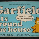 GARFIELD Sits Around the House Book 7 by Jim Davis (1983, Paperback)