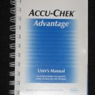 ACCU-CHEK Advantage USERS MANUAL & Quick Reference Guide English & Spanish NEW