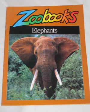 Elephants by John Bonnett Wexo Zoobooks Wildlife Education