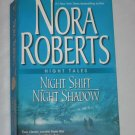 Nora Roberts Night Tales Night Shift and Night Shadow 2005 Silhouette Romance Book