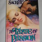 A Taste of Passion by Susan Sackett Historical Romance (1992, Paperback) Zebra Books