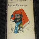 Henry IV Part 1 Shakespeare Signet Classics Vintage 1965 Paperback Book