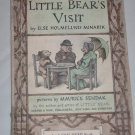 Little Bear's Visit by Else Holmelund Minarik An I Can Read Book Vintage 1961 Hardcover
