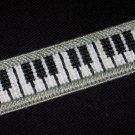 Handmade Piano Keyboard Bookmark using Plastic Canvas - NEW