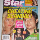 STAR MAGAZINE November 2004 Jessica Simpson Julia Roberts Desperate Housewives Nick Lachey