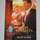 Emily McKay Baby Benefits Silhouette Desire 1902 Billionaires and Babies Paperback Book