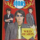 Jonas Wild Hearts Book 1 by Catherine Hapka 2009 First Edition Paperback Disney Press