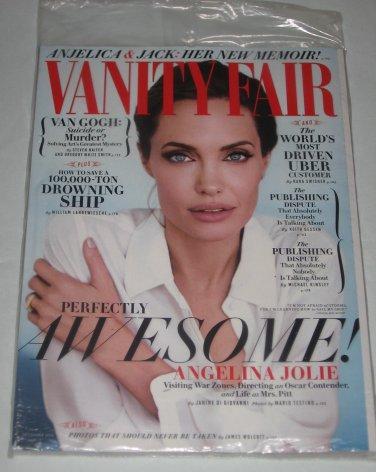 Vanity Fair Magazine December 2014 ANGELINA JOLIE Van Gogh Amy Poehler Uber NEW SEALED
