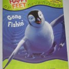 Gone Fishin Happy Feet Activity Book Puzzles Finger Puppets Mazes Games NEW