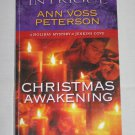 Christmas Awakening Holiday Mystery Jenkins Cove Harlequin Romantic Suspense Ann Voss Peterson