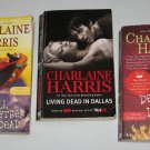 Lot of 3 Sookie Stackhouse HBO True Blood Original Series Books by Charlaine Harris Fantasy Mystery