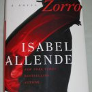 ZORRO by Isabel Allende 1st Edition 2005 Hardcover with Dust Jacket