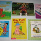 Lot of 6 Learning to Read, ABC, Counting Pre-K - 1st Grade Books Scholastic