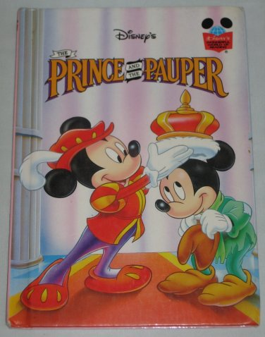 The Prince and the Pauper 1993 Hardcover Walt Disneys Wonderful World of Reading