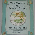 The Tale of Mr. Jeremy Fisher by Beatrix Potter 1991 Softcover Frederick Warne & Co