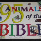 95 Animals of the Bible by Nancy P. Johnson (2000, Softcover) Childrens Book