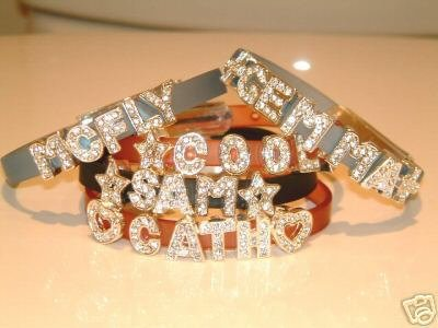 CRYSTAL LETTERS - MAKE YOUR OWN NAME BRACELETS