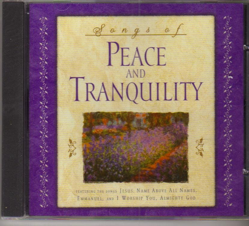 Songs of Peace and Tranquility Music CD