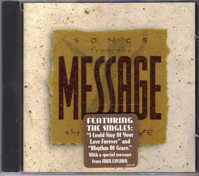 Songs From the Message The Way of Love Music CD