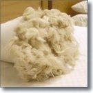SO SILKY! Kapok - Vegan Euro Pillow with Organic Cotton Damask