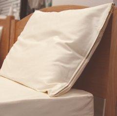 Organic Cotton Queen Size Pillow Protector - Protective Cover