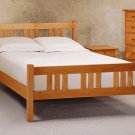 All Natural Solid Maple Arts & Crafts Full Platform Bed by Pacific Rim