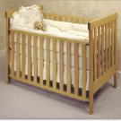 All Natural Solid Maple Crib - Arts & Crafts Baby Crib by Pacific Rim