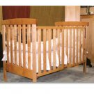 All Natural Solid Maple Crib - Radius Baby Crib by Pacific Rim