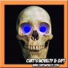 Scary Blue LED Halloween Eye Eyes Set Haunted House Prop