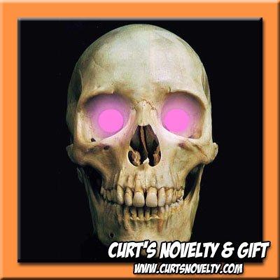 Scary Pink LED Halloween Eye Eyes Set Haunted House Prop