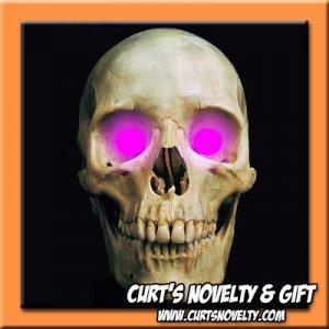 Scary UV / Purple LED Halloween Eye Eyes Set Haunted House Prop