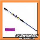 """36"""" .40 Cal Ninja Purple Blowgun Hunting Outdoor Indoor Target Blow Gun"""