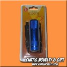 9 LED Blue Anodized Emergency Camping Flashlight Flash Light