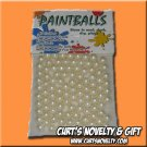 .40 Caliber White Paintballs Bag of 100 Great for Blowgun or Slingshot