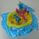 1999 Vintage Polly Pocket Complete Dolphin Ride Bluebird Toys (36741)